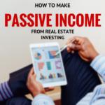 passive income real estate investment
